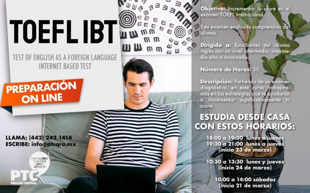 Curso de TOEFL iBT Online en PTC